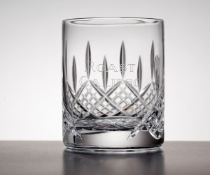 WHISKY TUMBLER 9oz WITH PANEL FOR ENGRAVING