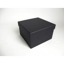 BLACK GIFT BOX  22.5cm x 21.5cm
